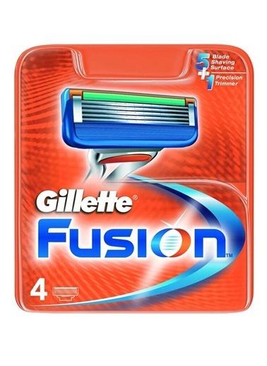 Gillette Gillette Fusıon Proglıde 4 Lü Yedek Renkli